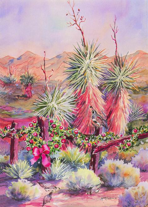 CHR-871 Yucca In Winter by Ann McEachron