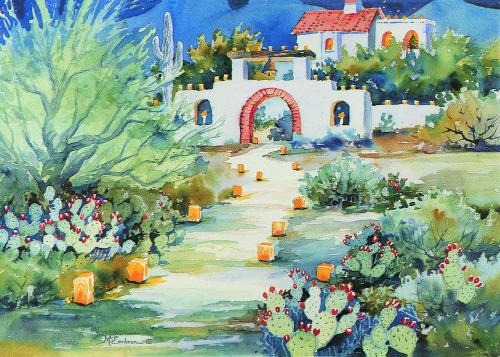 CHR-884 Starry Night, Holy Night by Ann McEachron