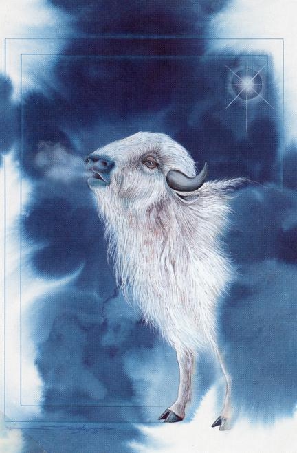 CHR-930 Buffalo Spirit by Dyanne Strongbow