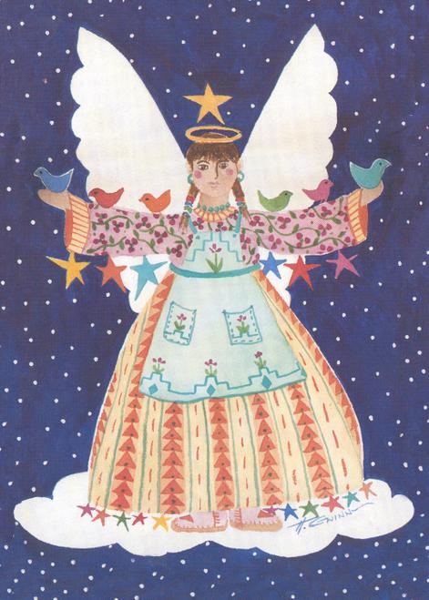 CHR-933 Angel de las Pajaritas by Helen Gwinn
