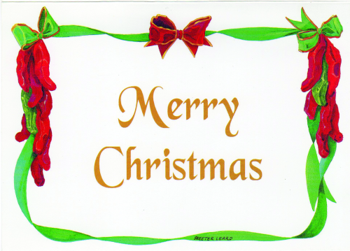 CHR-937 Merry Christmas by Skeeter Leard