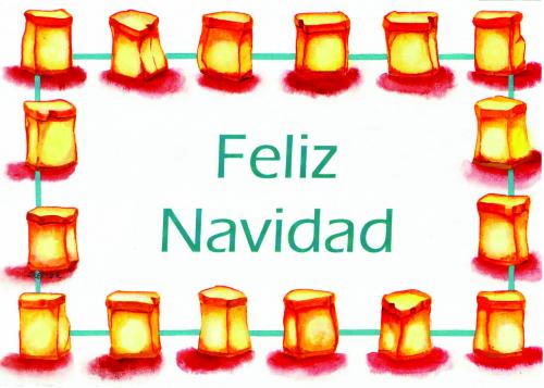 CHR-938 Feliz Navidad by Skeeter Leard