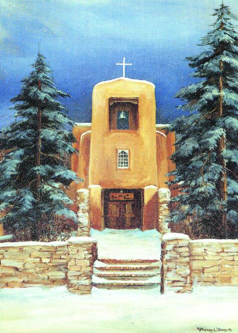 CHR-941 San Miguel Church by Katheryn Williams