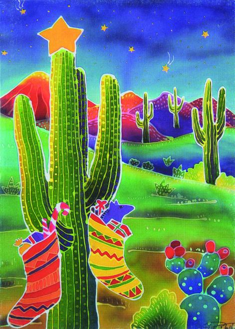 CHR-952 Cactus Splendor II by Harriet Peck Taylor