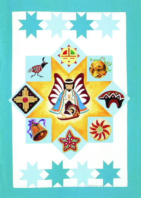 CHR-954 Quilt of Christmas Stars by Skeeter Leard