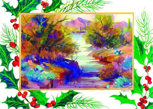 CHR-957 Holiday Glen by Ann McEachron