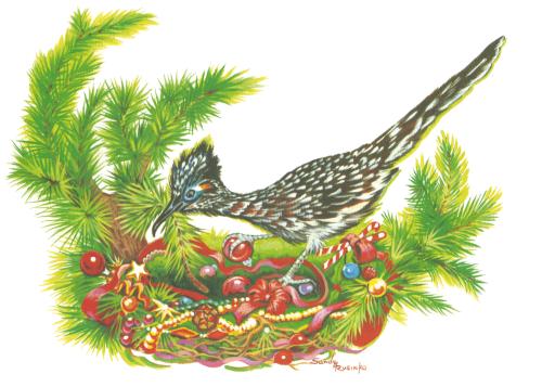 CHR-959 Festive Nest by Sandy Rusinko