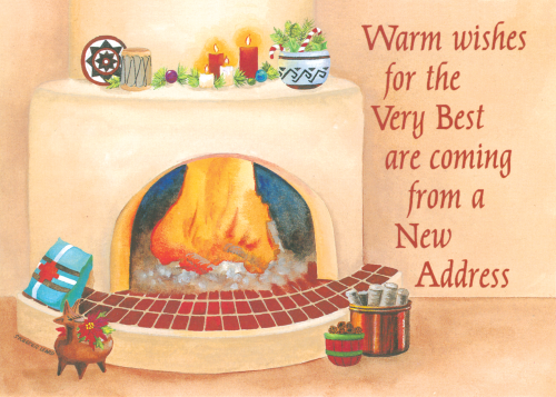 CHR-968 Warm Wishes From A New Address by Skeeter Leard