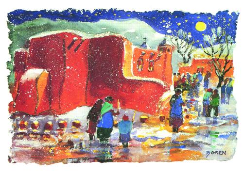 CHR-987 Christmas Spirit by Evelyne Boren