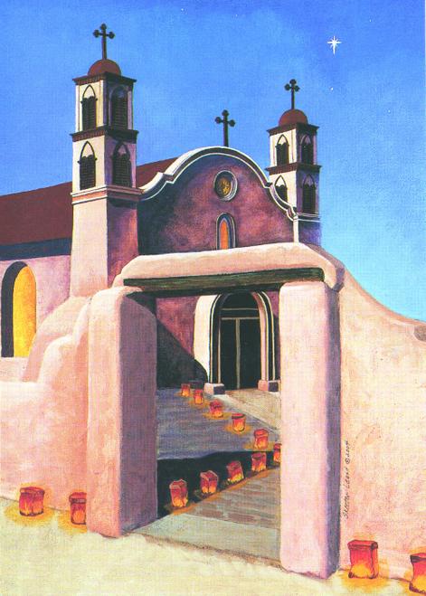 CHR-988 Mission San Miguel by Skeeter Leard
