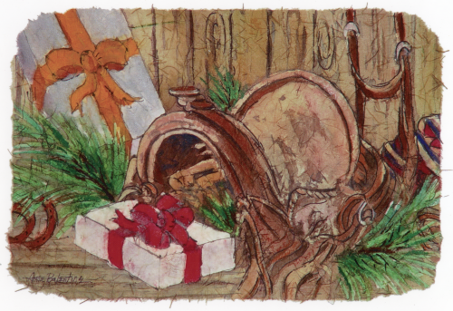 CHR-992 Christmas at the Ranch by Anna Balentine