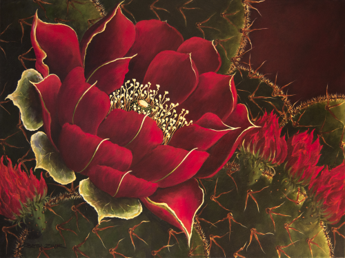 """CHR-1117 """"Love that Red"""" by Beth Zink"""