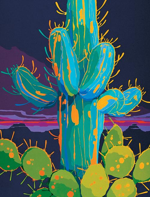 AC-633 Desert Kaleidoscope #31 by J.K. Lamkin