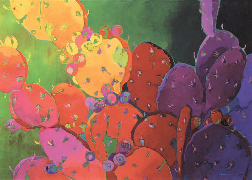 AC-636 Desert Kaleidoscope #19 by J.K. Lamkin