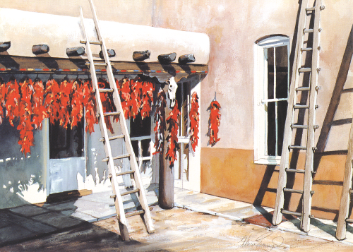 AC-721 Chile Ristras by Therese Evangel