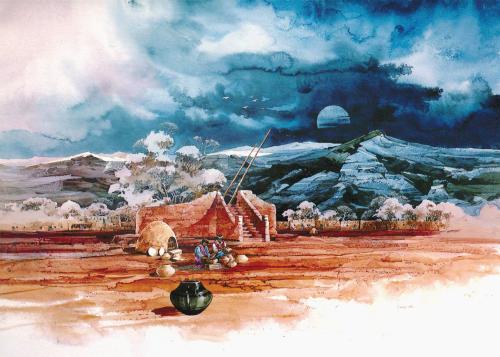 AC-753 San Ildefonso by Michael Atkinson
