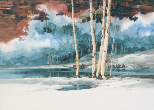 AC-754 Emerald Lake by Michael Atkinson