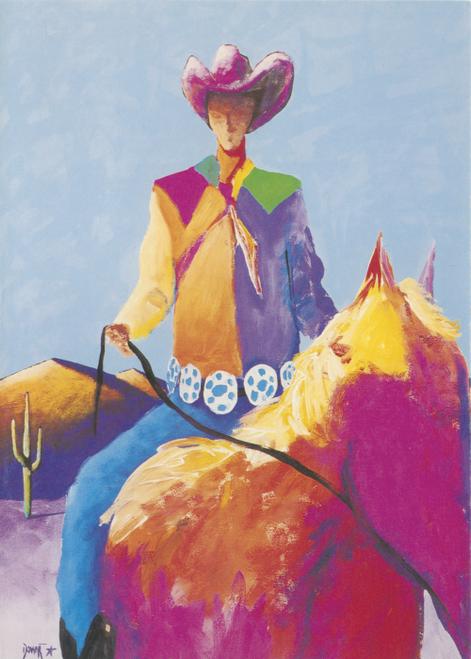 AC-758 Concho Cowboy by Downe Burns