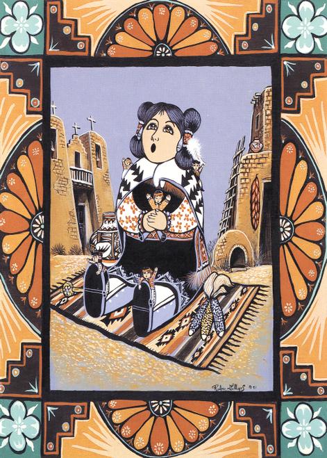 AC-769 Pueblo Storyteller by Ruben M. Gallegos