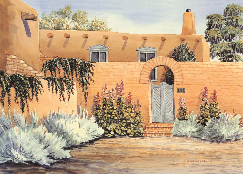 AC-785 Southwest Casa by Karen Brueggemann
