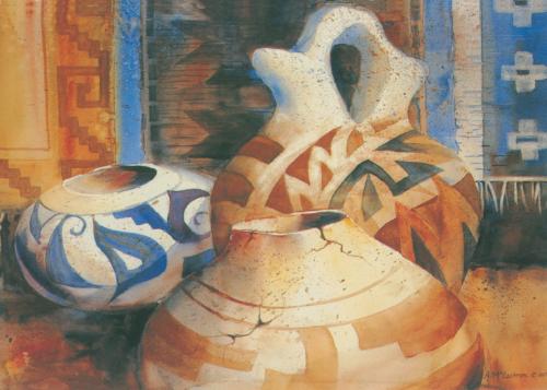 AC-789 Hopi Pottery by Ann McEachron