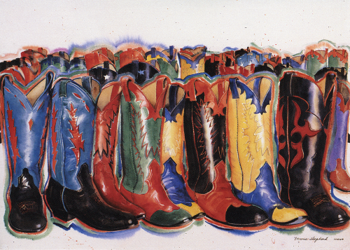 AC-811 Boots by Maris Shepherd