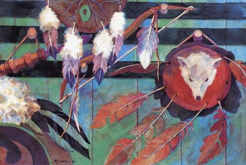 AC-816 Indian Shields by Ann McEachron
