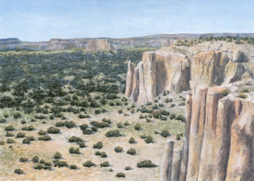 AC-850 Acoma Overlook by T. Lawson Dunn