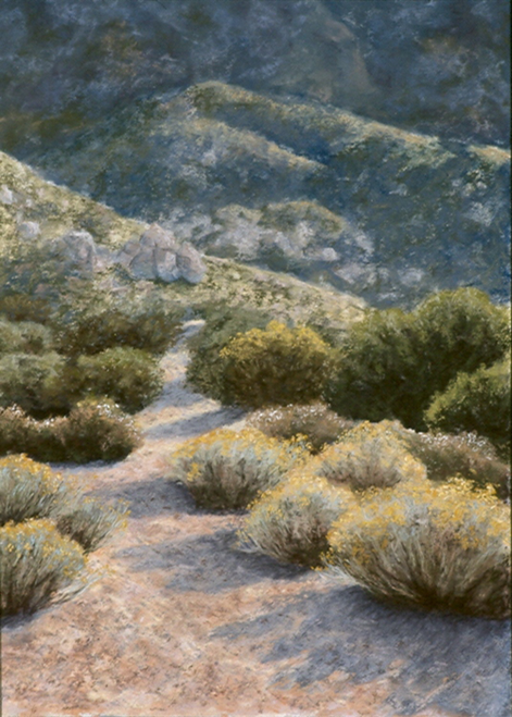 AC-853 Early Morning Hike by T. Lawson Dunn