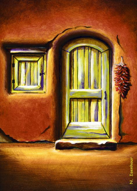 AC-859 The Old Green Door by Natasha Isenhour