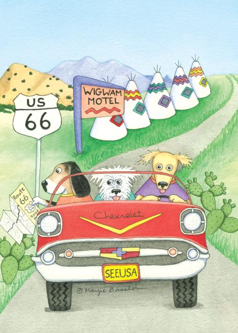 AC-888 Wigwam Motel - Rt 66 by Marjie Bassler