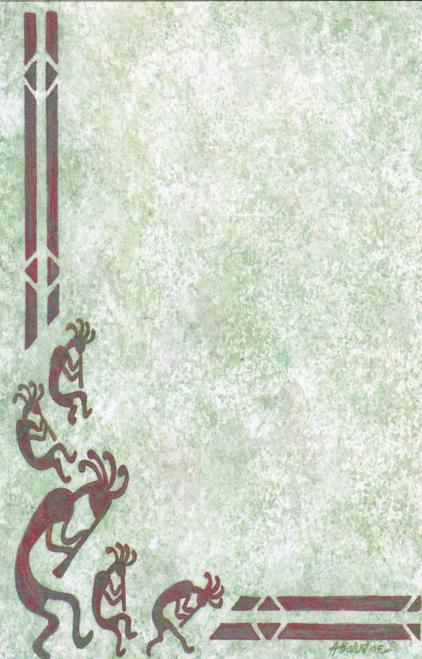 NP-658 Kokopelli Design by Anna Balentine