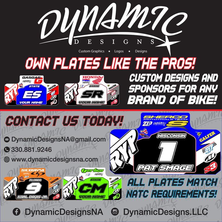 Custom Name/Number Plate Decal