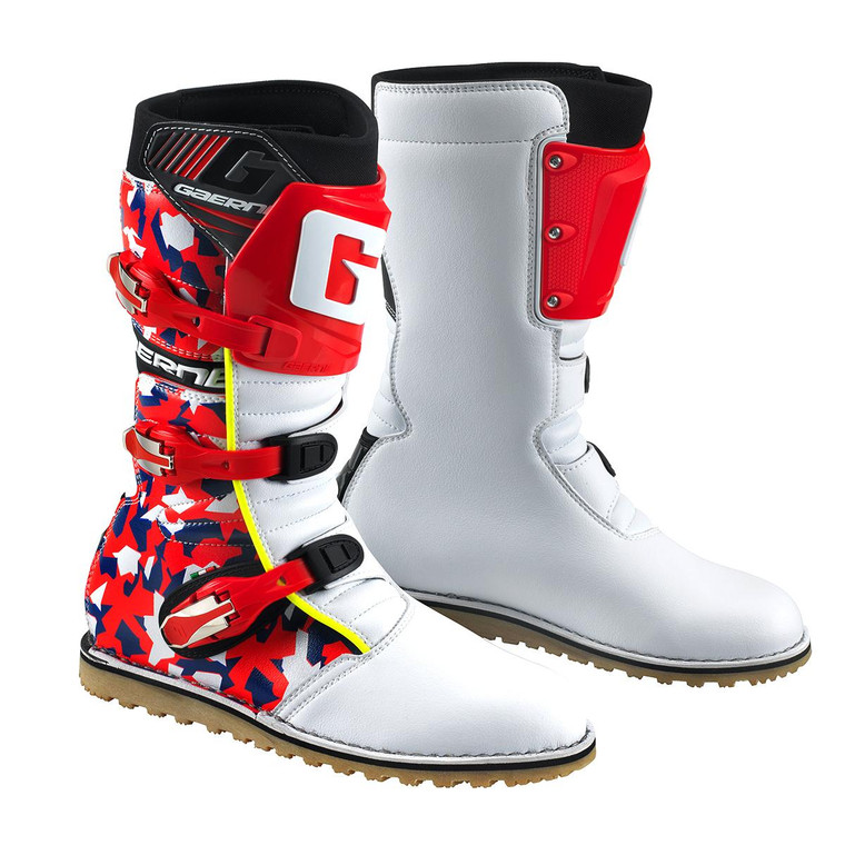 GAERNE CLASSIC BOOTS CAMO RED