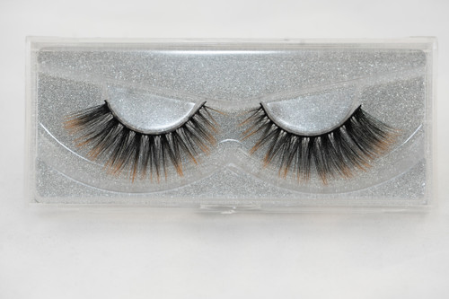 25 mm silk eyelashes, silk lashes, lashes, black, gold, false lashes, strip lashes