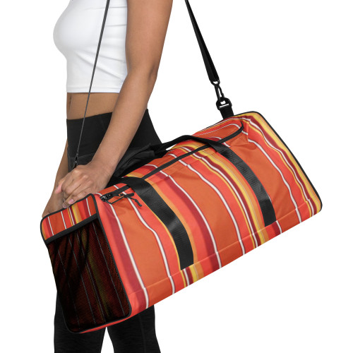 Bright Stripes Duffle Bag