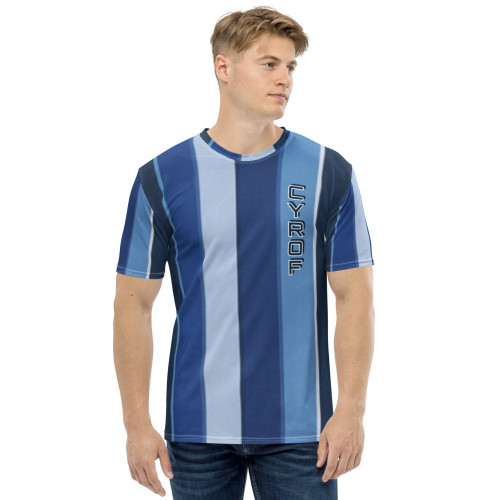 Blue Stripe Men's T-shirt