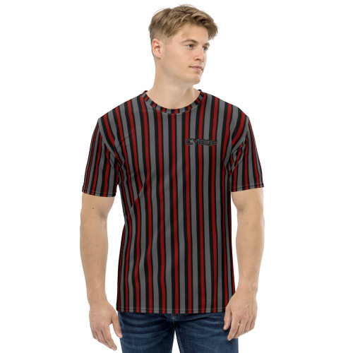 Dark Striped Men's T-shirt