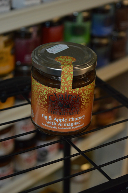 Fig & Apple Chutney with Armagnac