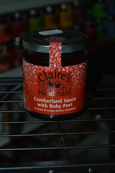 Claire's Cumberland Sauce with Ruby Port