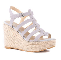 Naturally Suede Wedge