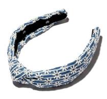 Striped Daisy Slim Headband