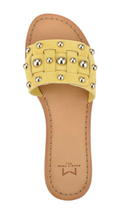 Pacca Yellow Studded Sandal