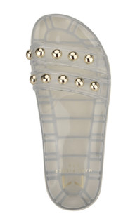 Trent Clear White Jelly Sandal