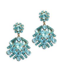 Willa Aqua Earrings
