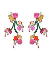 Begonia Statement Earrings
