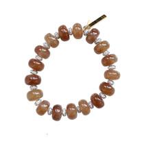 Rootbeer Beaded Country Club Bracelet