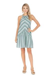 Halter Stripe Dress