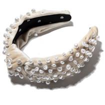 Faux Freshwater Pearl Headband