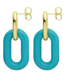 Blue Small Shakedown Earring RBRR1012BL